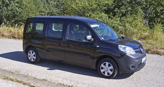 Renault Kangoo 1.5 dCi Maxi  má rozvor 3081 mm a délku 4688 mm