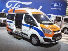 Ford Transit Custom jako sanitní vůz