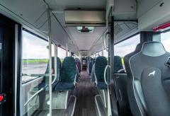 Interiér městských autobusů MAN Lion's City může poskytnout opravdu vysokou míru zákaznického komfortu.