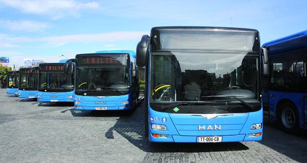 Dopravní společnost Tbilisi Transport Company objednala 143 sólových autobusů MAN Lion's City CNG, jejichž dodávky začnou napodzim 2016.