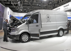 Nový Volkswagen Crafter alias MAN TGE, Dodávka roku 2017 (Van of the Year)