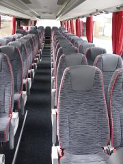 Komfortní sedadla