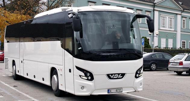 Elegantní design autobusu VDL FMD2