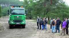 """Tatra Phoenix vpodobě """"zemědělského traktoru""""."""