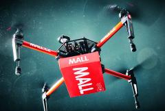 Doručení trvalo cca třiminuty letového času. Pokud se započítá ičas napřípravu startu, tak dron doručil zboží kzákazníkovi zacca 5 minut.