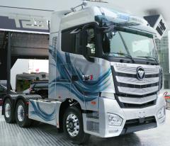 Foton Auman EST se stal technickým základem pro vývoj tzv. Internet Super Trucku.