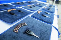 Klíčky od nových vozidel byly slavnostně předány na Palackého náměstí vPoličce.