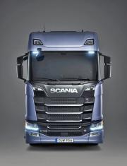 """Typické přední čelo vozů Scania smotory V8 – nový """"King of the Road"""""""