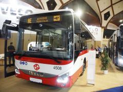 Automobilka Iveco Česká republika zvýšila výrobu o 4,2 % na 3885 autobusů, foto Iveco Crossway