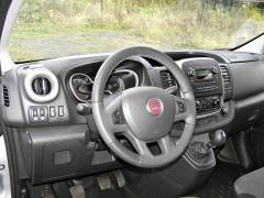 Fiat - Palubní deska je elegantní a přitom praktická