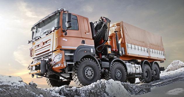 Tatra Phoenix Euro 6 8x8