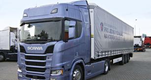 Scania R 450 krátce po prezentaci prošla naším redakčním testem