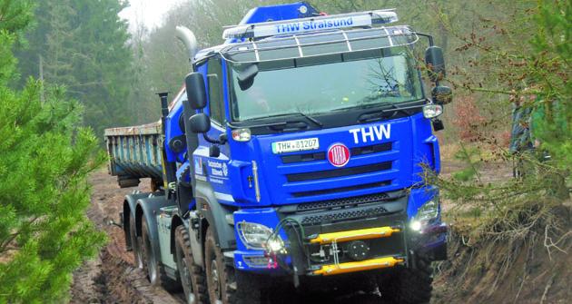 Phoenix pro spolkovou službu THW – Technisches Hilfswerk.