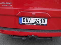 ford-Parkovací kamera i tažné zařízení jsou dodávány za příplatek