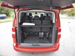 peugeot-Základní zavazadlový prostor pod platem je 0,7 m3