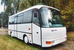 První vyrobený autobus SOR C 7,5