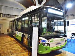 Na loňském veletrhu Czechbus byl předveden autobus Scania Citywide LE spohonem na zemní plyn