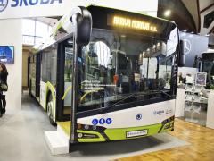 Na Czechbusu vystavila Škoda Electric Elektrobus Škoda Perun