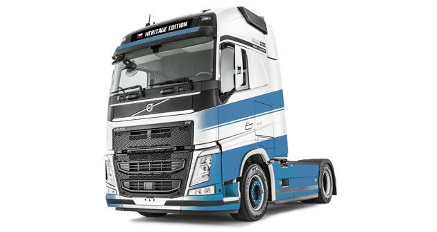 Limitovaná série Volvo FH Heritage Edition