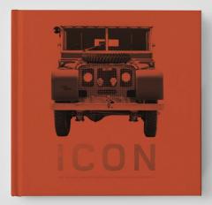 Icon je kniha, která se detailně věnuje modelům Series a Defender
