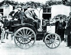 Další vůz Panhard et Levassor zjízdy zPaříže doRouenu vroce 1894.