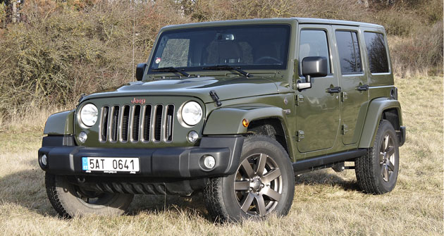 Jeep Wrangler Unlimited 2.8 CRD  75th Anniversary