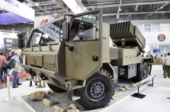 BM-21 MT 4x4 získal ocenění Zlatý IDET