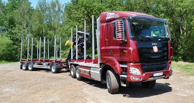 TATRA Phoenix Euro 6 Präsident  pro lesní práce