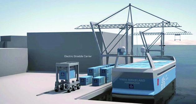 Automatizovaná vykládka anakládka kontejnerů, automatizovaný systém řízení lodi – to vše ušetří nejen životní prostředí,  ale hlavně prostředky  navýplatu živých lidí.