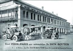 """Posádky se samozřejmě snažily své působení vzávodě náležitě marketingově """"prodat"""" – už jen to, že se velké cesty zúčastnily dva identické vozy De Dion-Bouton, bylo pro první světovou automobilku velmi cenné."""