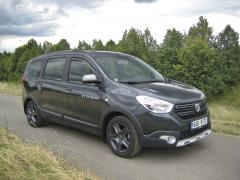 Dacia Lodgy ve verzi Stesat Outdoor