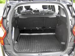 dacia-Pětimístná verze nabízí ohromný základní objem zavazadlového prostoru