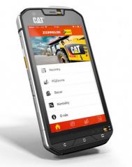 Nová mobilní aplikace Caterpillar