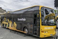 """""""Parní"""" autobus Scania"""