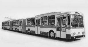 Vizualizace trolejbusu 20 Tr