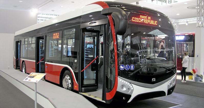 SOR E-bus, 2.generace, prototyp ENS 12 sakumulátory na střeše