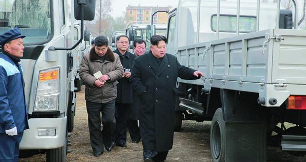 Nepochybně jde olicenční výrobu či dokonce nějaký klon původních vozidel čínské značky Dongfeng.