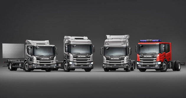 Nová řada vozidel Scania