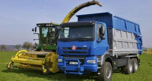 "Agro Tatra Phoenix Euro 5 6x6, nástavba KOV Velim, shomologací ""traktor"""