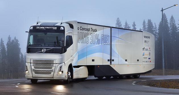 Hybridní prototyp tahače Volvo Concept