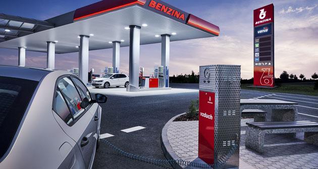 Přes 56 procent počtu čerpacích stanic vČR patří společnosti Benzina