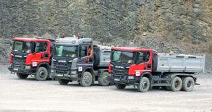 Díky rozsáhlému zavádění komponentů ařešení se zvláštním zaměřením naaplikace voblasti stavebnictví společnost Scania představila řadu dalších, dychtivě očekávaných komponentů ařešení.