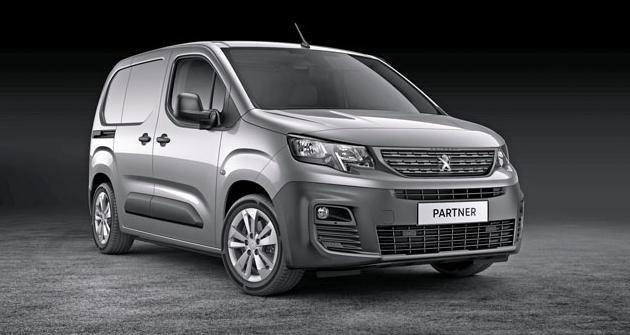 Peugeot Partner van model 2019