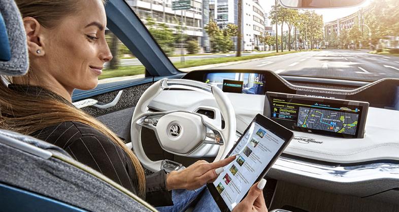 Pět stupňů k autonomnímu řízení
