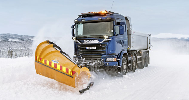 Scania udržuje komunikace vzimních podmínkách