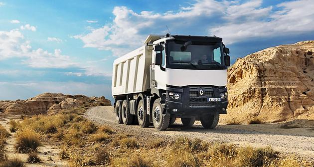 Renault K8x4 X-Trem je určen pro nejtěžší práci vlomu