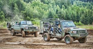 Bojové speciály LRPV a RDV Gepard na podvozku Toyota Land Cruiser řady 70