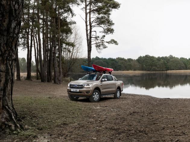 Ford Ranger ve verzi Limited je pracovitý pick-up skomfortní výbavou