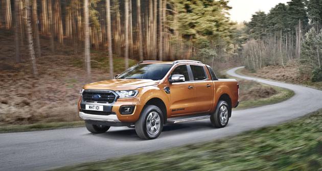 Pick-up Ford Ranger Wildtrak nabízí ještě více komfortu v interiéru