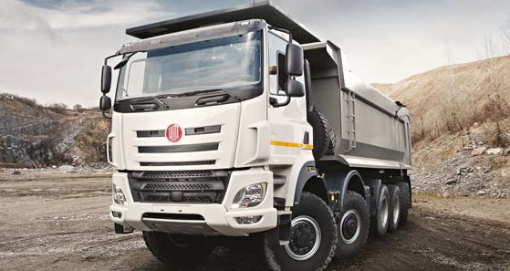 Tatra Phoenix 10x6 pro nizozemského dealera Loven Trucks